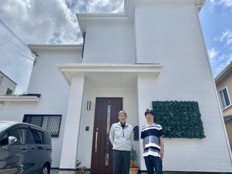 和歌山市I 様邸 屋根外壁塗装工事